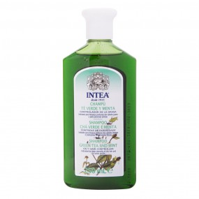 Intea® GREEN TEA and MINT Special Shampoo for oily hair